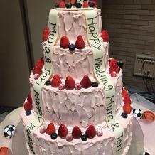 夢のあるケーキ