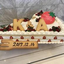 憧れていたビックショートケーキ