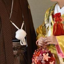 茶色の袴と金色の和装がお気に入りです。