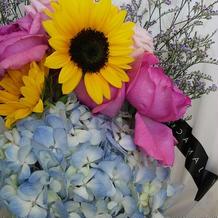 好きな花を式で使える