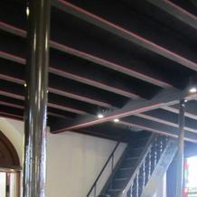 チャペル内天井