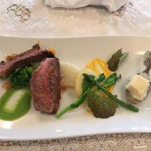 熊本牛のステーキ