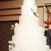 イミテーションケーキです。