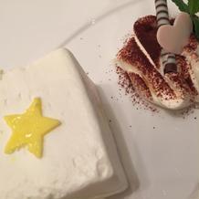友人撮影/ケーキ