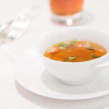コンソメスープ(私は飲めず...)