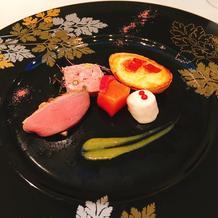こちらは洋食の前菜。美味しかったです。
