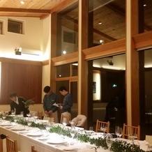 一軒家で披露宴の出来る会場です