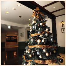 12月はツリーも飾ってあります