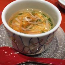 茶碗蒸しのタレがとても美味しかったです。