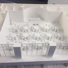 会場の模型