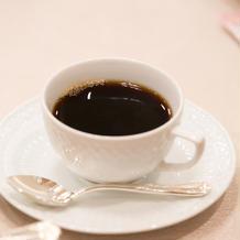 デーザート用コーヒー