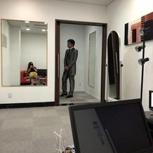 衣装室はかなり広々!
