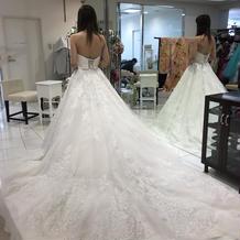 挙式の時のドレス