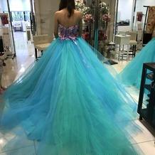 披露宴の時のドレス