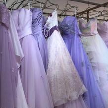 カラードレス紫系
