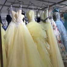 カラードレス黄色系