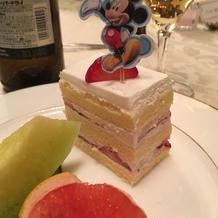 ケーキonミッキー