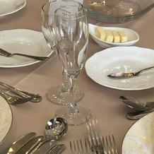 披露宴で使われる食器