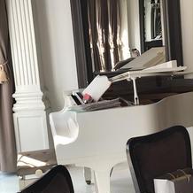 ピアノもありました