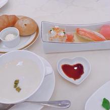 食器も可愛かったです。