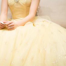 カラードレス(正面)