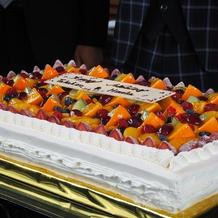 生ケーキ(カット前)