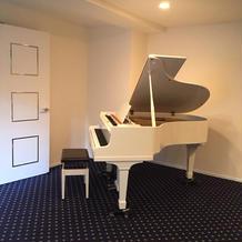 ピアノもあり