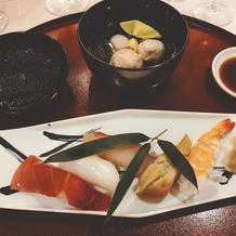 お寿司とお椀