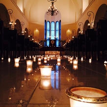 見学時にとった教会の素敵写真です。