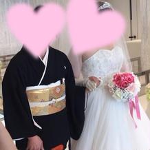 プラン+三万円のドレス