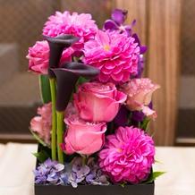 両親への花束ボックス