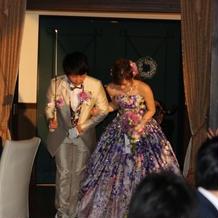 最高の感動する結婚式となりました。