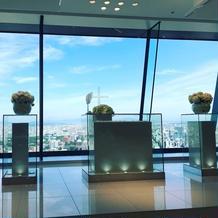 40階のチャペルからの眺めは最高です
