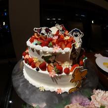 スヌーピー ケーキ