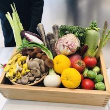 こだわりの野菜